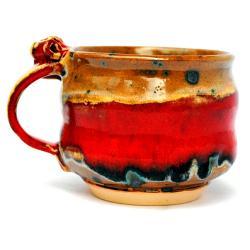 kubek,naczynie,ceramika,użytkowe,unikat - Ceramika i szkło - Wyposażenie wnętrz