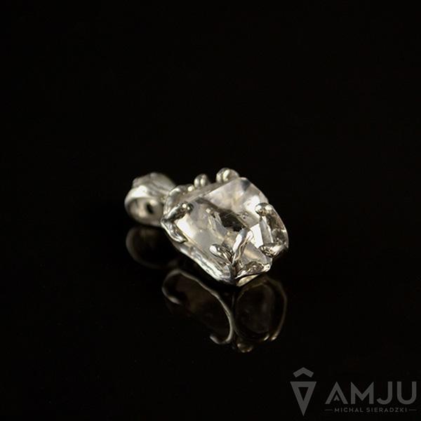 0304360896182f diament,kryształ,delikatny,minerał,surowy - Wisiory - Biżuteria w ArsNeo