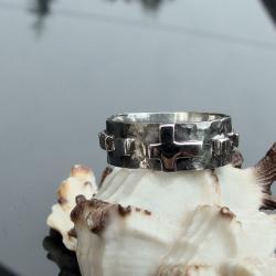 masywny,różaniec,industrialny - Dla mężczyzn - Biżuteria