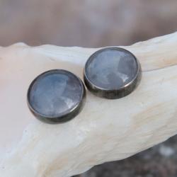 kolczyki,srebrne,proste,sztyfty,drobne,wkrętki, - Kolczyki - Biżuteria