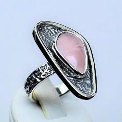 pierścionki srebrne,pierścionki z kamieniami,kwarc - Pierścionki - Biżuteria
