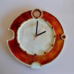 zegar wiszący - Ceramika i szkło - Wyposażenie wnętrz