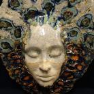 Ceramika i szkło maska,dekoracja,klimat,twarz