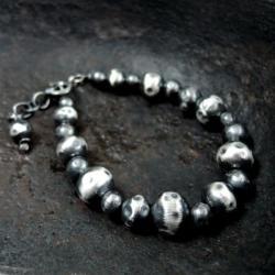 bransoleta,srebrna - Bransoletki - Biżuteria