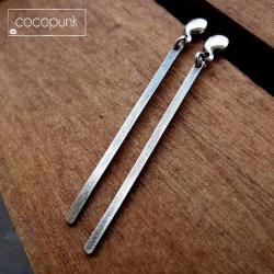 sopelki,strzeliste,długie,subtelne,codzienne, - Kolczyki - Biżuteria
