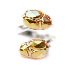 Pierścionek ze skarabeuszami - Pierścionki - Biżuteria