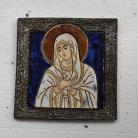 Ceramika i szkło Beata Kmieć,ikona ceramiczna,ikona,obraz,