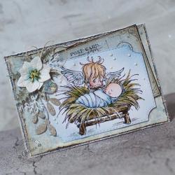 Święta,Boże narodzenie,stajenka,żłóbek - Kartki okolicznościowe - Akcesoria