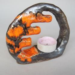 ceramika,wnętrze,dekoracja - Świeczniki - Wyposażenie wnętrz