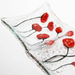 szklana miseczka na przekąski oryginalny prezent - Ceramika i szkło - Wyposażenie wnętrz