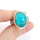 Pierścionki pierścionek,turkus,srebrny,duży rozmiar