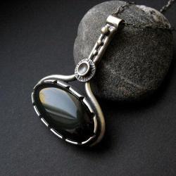 srebro,anna fidecka,art clay,wisior - Wisiory - Biżuteria