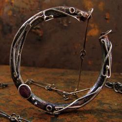 srebro,techniki jubilerskie,metaloplastyka - Wisiory - Biżuteria
