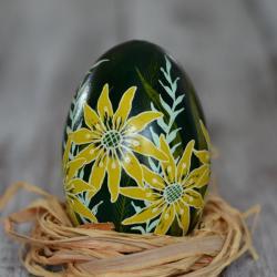 pisanka batik Wielkanoc dekoracja stołu malowana - Inne - Wyposażenie wnętrz