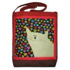 Na ramię śmieszny prezent,dla kociarza,dla dziecka,kot