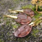 Komplety Złocony komplet Radiolarian Blush Rose
