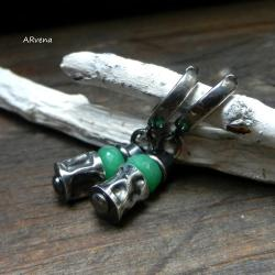 eleganckie kolczyki,krótkie kolczyki - Kolczyki - Biżuteria