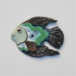 Beata Kmieć,dekor,ryba,obraz,ceramika - Ceramika i szkło - Wyposażenie wnętrz