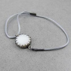 ślubna,regulowana,na sznurku,elegancka,boho - Bransoletki - Biżuteria