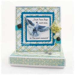 bierzmowanie,pamiątka,pudełko,duch święty - Kartki okolicznościowe - Akcesoria