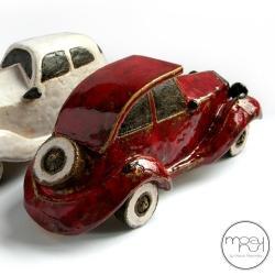 auto,mężczyzny,faceta,retro - Ceramika i szkło - Wyposażenie wnętrz