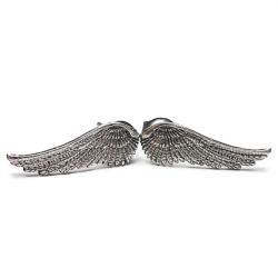 sztyfty,delikatne,drobne,skrzydełka - Kolczyki - Biżuteria