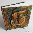 Notesy notes,szkicownik,pamiętnik,czaszka,
