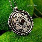 Naszyjniki Nehesi,naszyjnik,srebrny,srebra,mandala