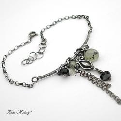 delikatna,kamienie,minerały - Bransoletki - Biżuteria