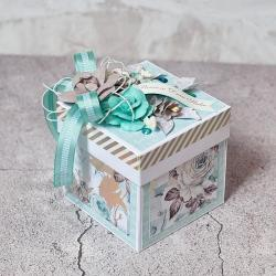 exploding box,ślub,para młoda - Kartki okolicznościowe - Akcesoria