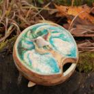 Ceramika i szkło ceramika,unikat,rękodzieło,ptak,cukiernica