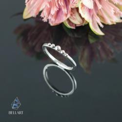 delikatny,elegancki,minimalistyczny - Pierścionki - Biżuteria