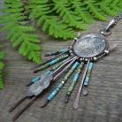 Naszyjniki srebrny,miedziany,łapacz snów,dreamcatcher