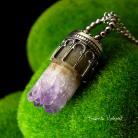 Naszyjniki Nehesi,naszyjnik,srebrny,srebra,ametystem
