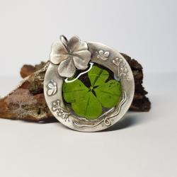 wisior z koniczyną - Wisiory - Biżuteria