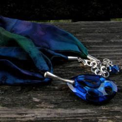 Naszyjnik Radiolarian na jedwabiu - Naszyjniki - Biżuteria