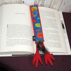 ptak,paw,książki,dla czytelnika, - Zakładki do książek - Akcesoria