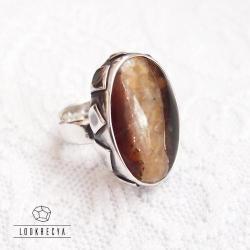 regulowany pierścionek,srebrny pierścień, - Pierścionki - Biżuteria