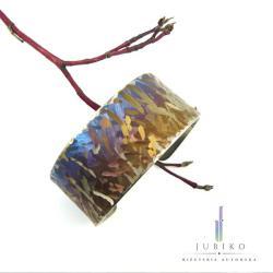 tytanowa,tytan,bransoletka,wytrzymała,sprężysta - Bransoletki - Biżuteria
