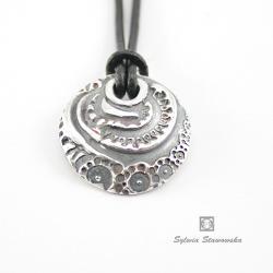 srebro,handmade, - Wisiory - Biżuteria