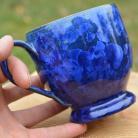 Ceramika i szkło kubek,zielona kura,ceramiczny kubek,kubeczek kawa