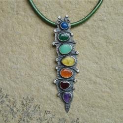 kolorowy,wesoły,Rivendell - Wisiory - Biżuteria