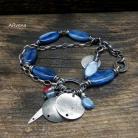 Bransoletki letnia bransoletka,niebieska bransoletka
