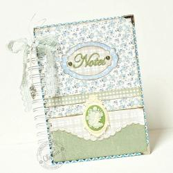 notes,romantyczny,kamea - Notesy - Akcesoria