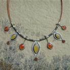 Naszyjniki pomarańczowy,barwy lata,Rivendell