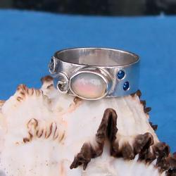 efektowny,oryginalny,hand-made - Pierścionki - Biżuteria