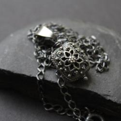 naszyjnik,fado,srebro,bali - Naszyjniki - Biżuteria