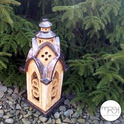 lampion,ogród,feng shui,ogień,świeczkę - Ceramika i szkło - Wyposażenie wnętrz