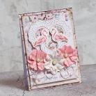 Kartki okolicznościowe ślub,kartka ślubna,flaming,flamingi
