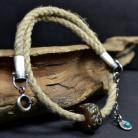 Naszyjniki surowy sznur,letni naszyjnik